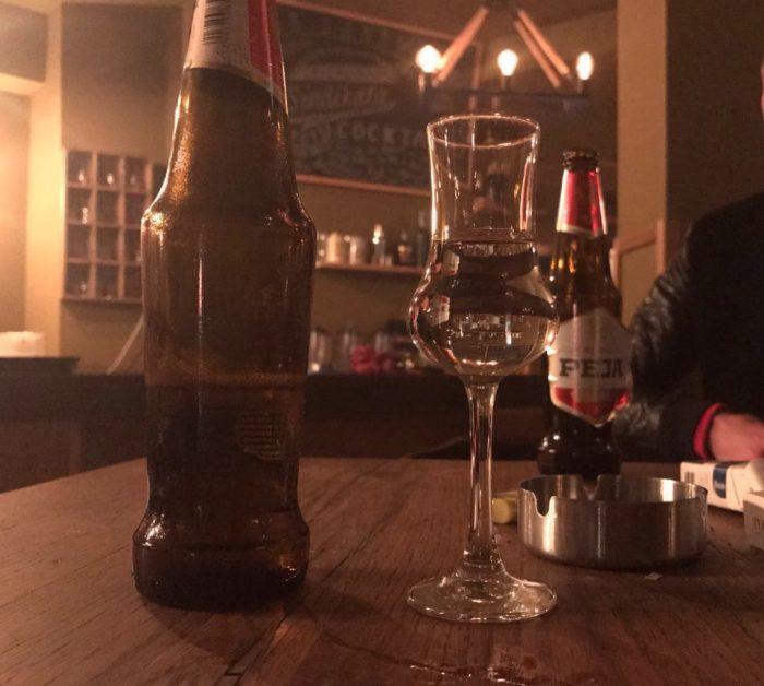 beer and raki