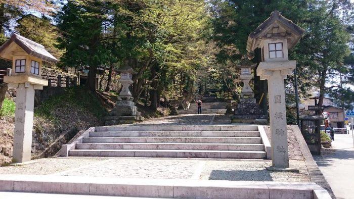 日枝神社正面