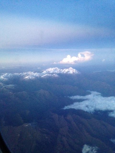 アンデス山脈の雄大さ