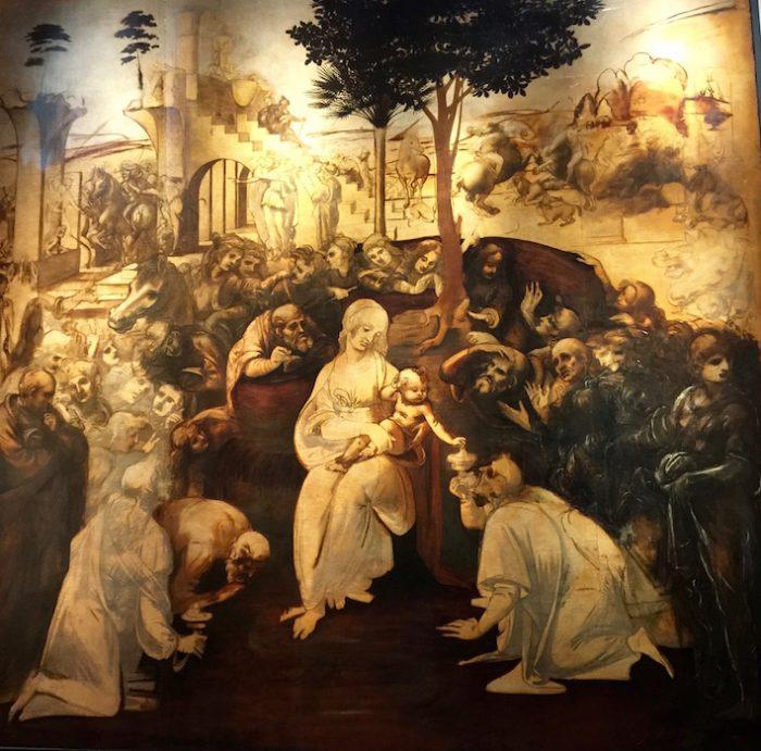 5年半ぶりに戻ってきたダ・ヴィンチ絵画作品、今なら修復士の仕事も見られます