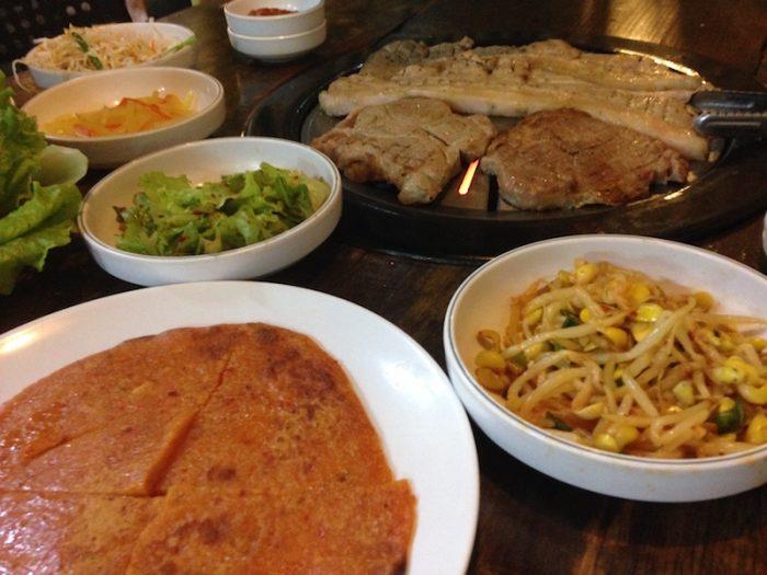 マレーシアでは韓国料理が人気。サムギョプサル食べ放題が最高なんです