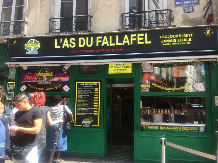 ファラフェル店舗