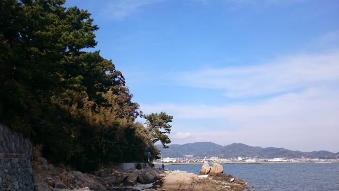 竹島のきれいな海