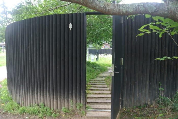 千葉県に、たぶん世界一大きなトイレがある