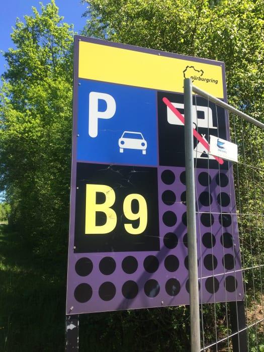 ニュル駐車場(1つ目)