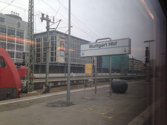 シュトゥットガルト駅