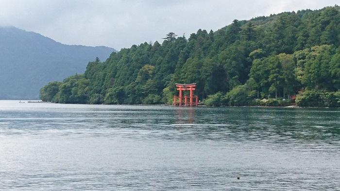 箱根神社と芦ノ湖周辺にジブリ「もののけ姫」の気配を感じる