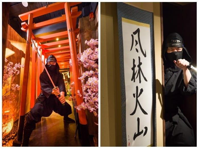 新宿で「手裏剣道場」を発見したので、忍者に入門してきた