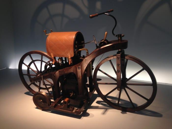 ベンツ自転車