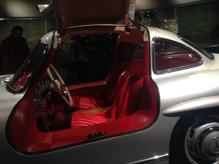 300SL車内