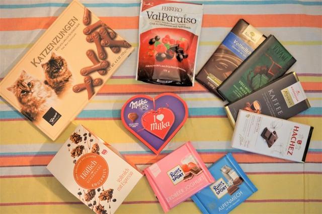 今こそチョコレート大国・ドイツのチョコを知ろう!食べ比べてみました
