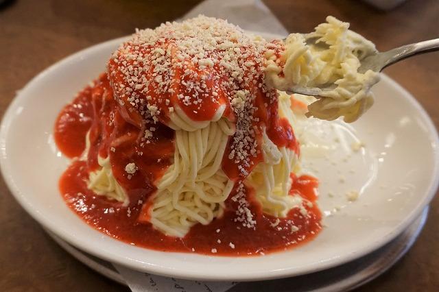スパゲッティアイス