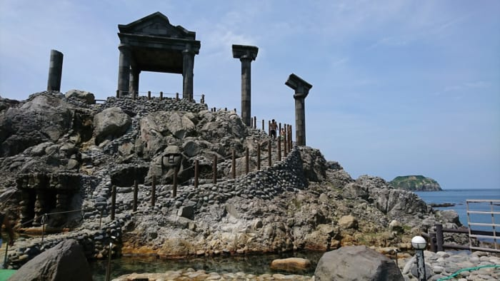 新島, 湯の浜露天温泉