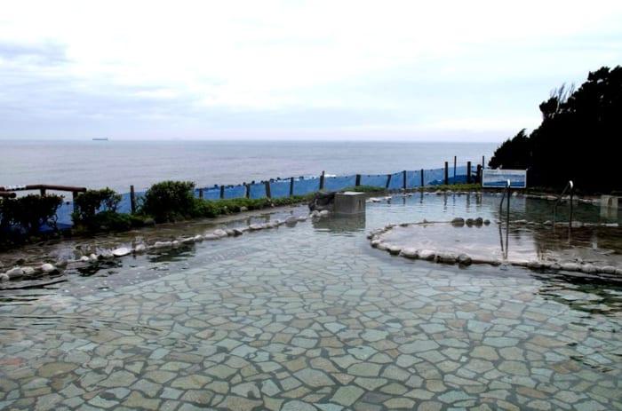 浜の湯, 伊豆大島