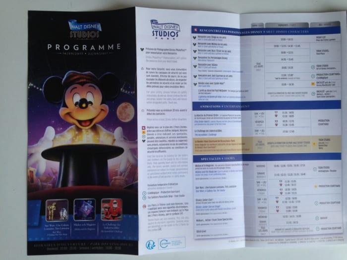 ディズニープログラム