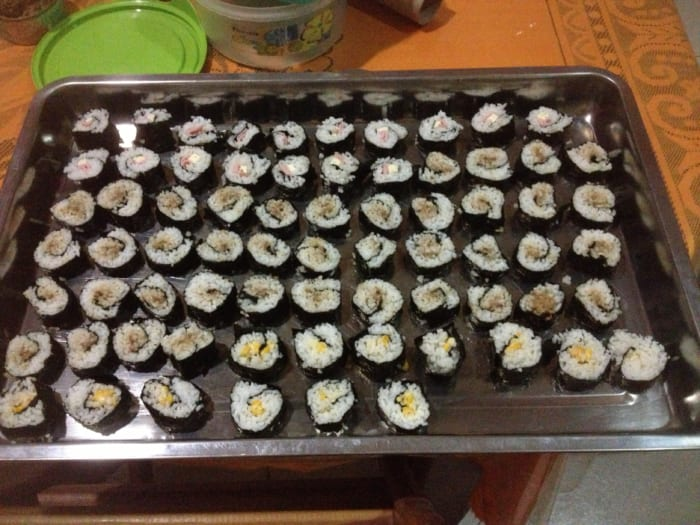 ボリビア、空前の寿司ブーム