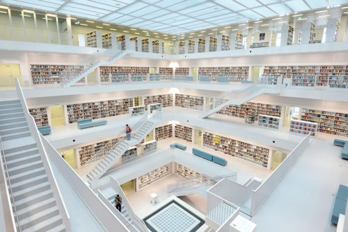 シュトゥットガルド市立図書館