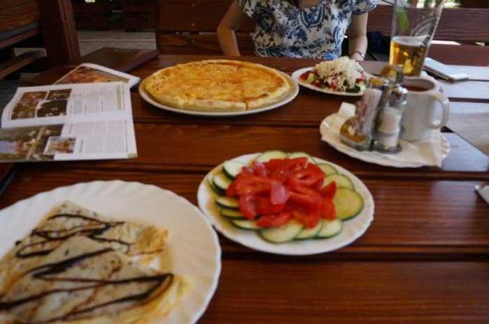 セルビアのパンケーキ