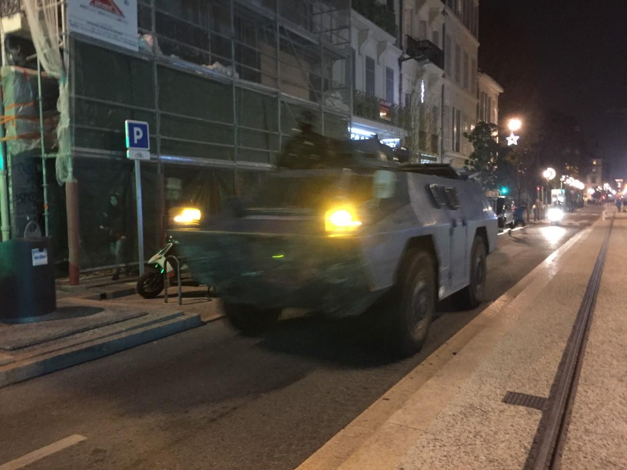戦車が街にやってくる