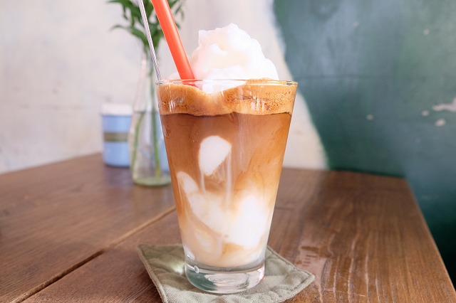 コンカフェのココナッツミルクコーヒーに感動