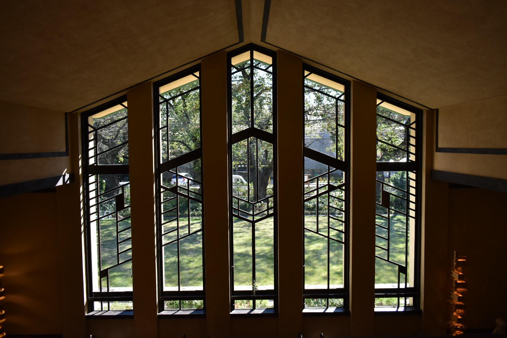 自由学園 ガラス